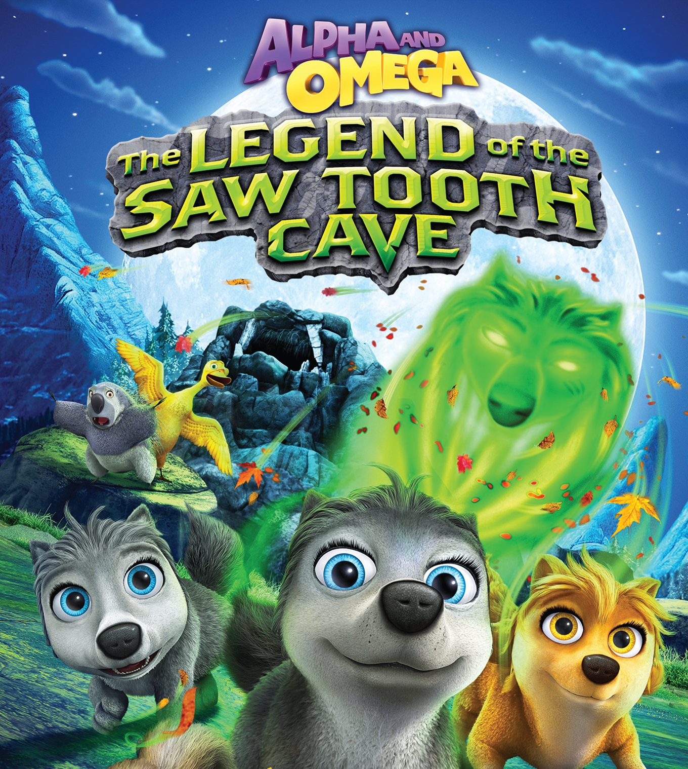 Watch Movie Alpha and Omega The Legend of the Saw Tooth Cave