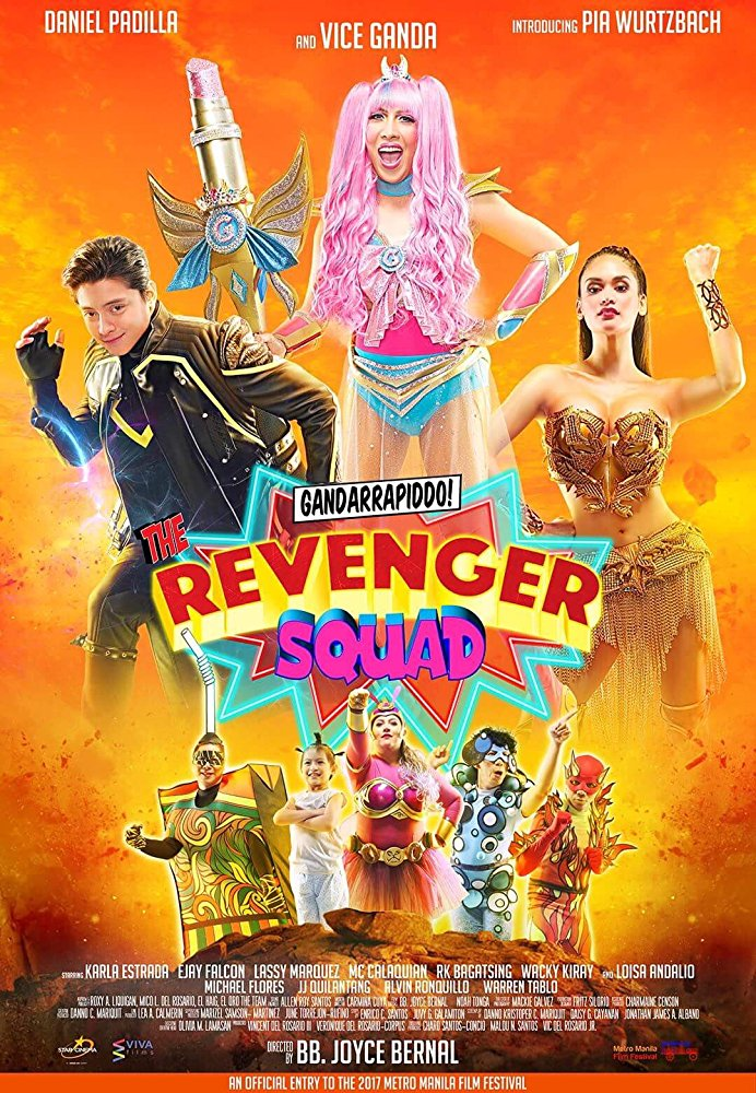 Watch Movie Gandarrappido The Revenger Squad