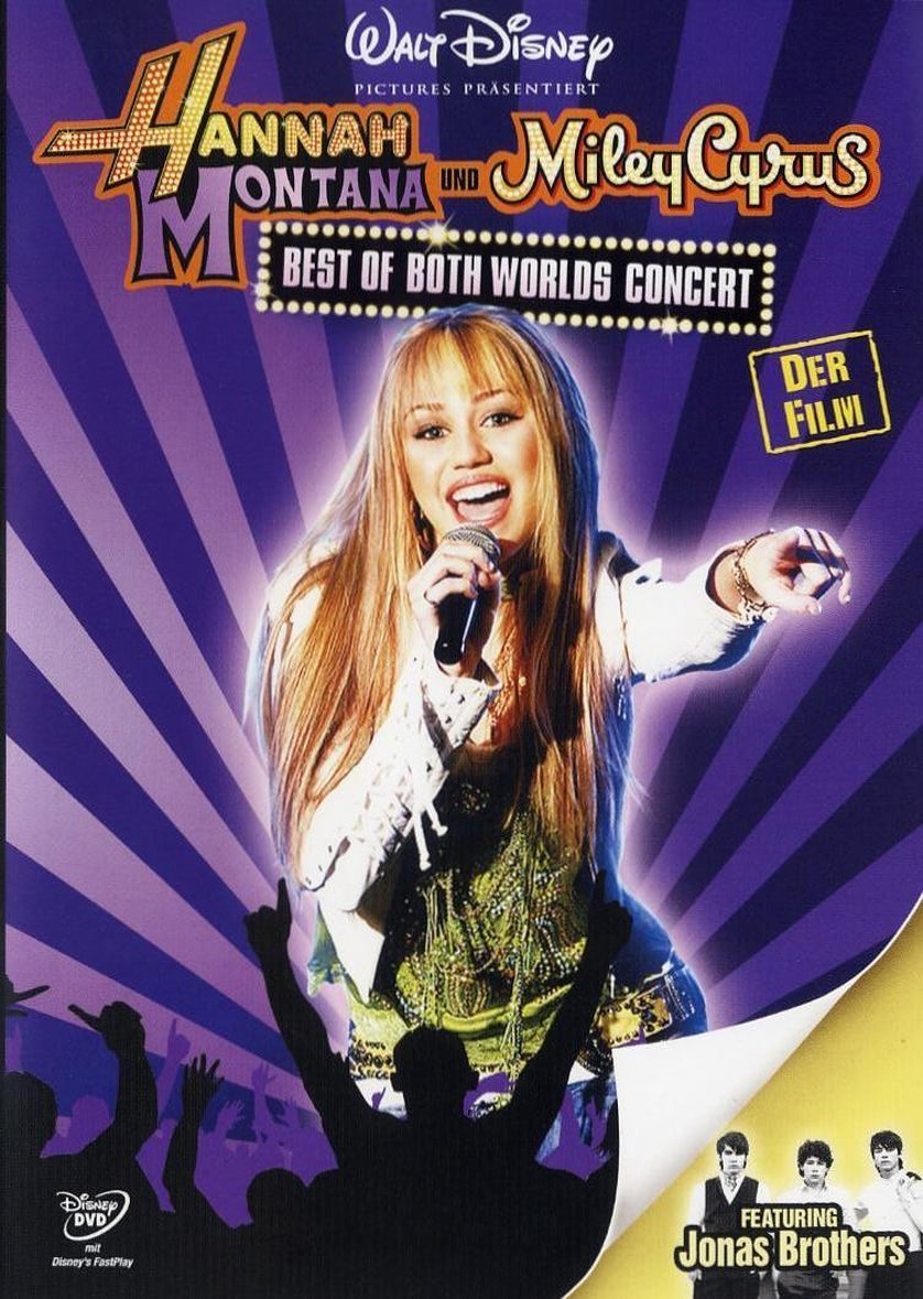 Watch Movie Hannah Montana and Miley Cyrus Best of Both Worlds Concert 2008