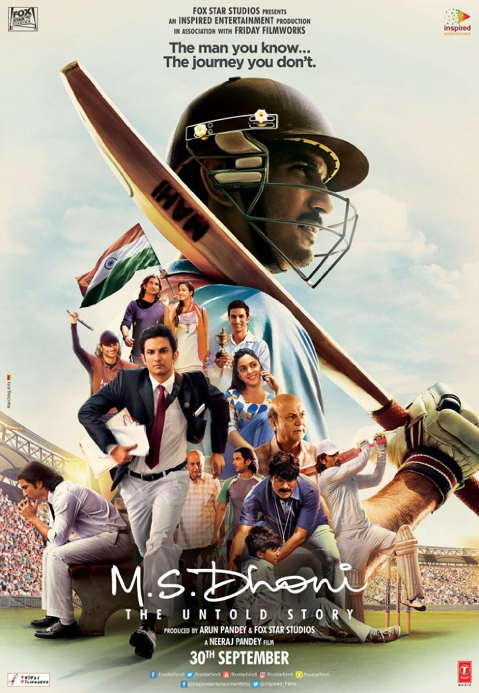 Watch Movie MS Dhoni The Untold Story
