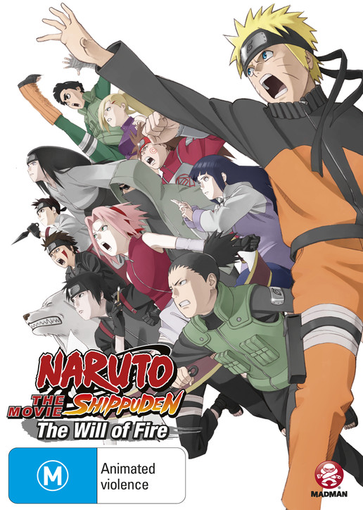 Watch Movie Naruto Shippuuden Movie 3 The Will of Fire