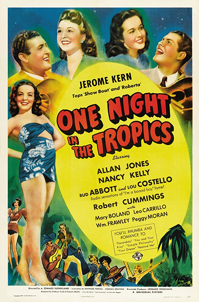 One Night in the Tropics movietime title=