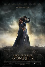 Pride and Prejudice and Zombies movietime title=
