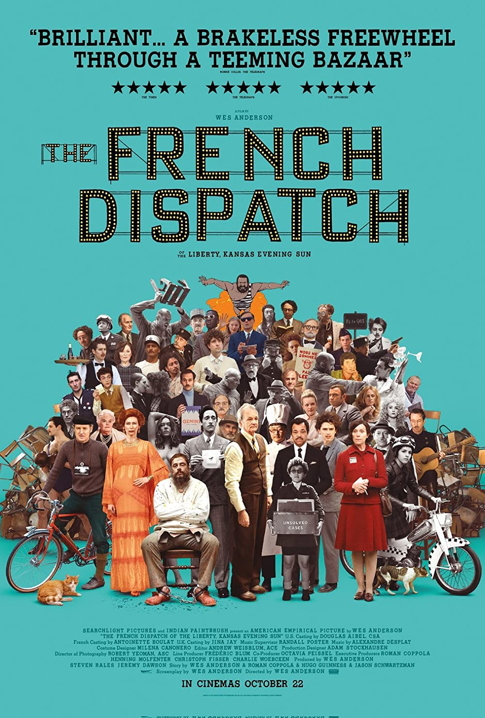 Watch Movie The French Dispatch