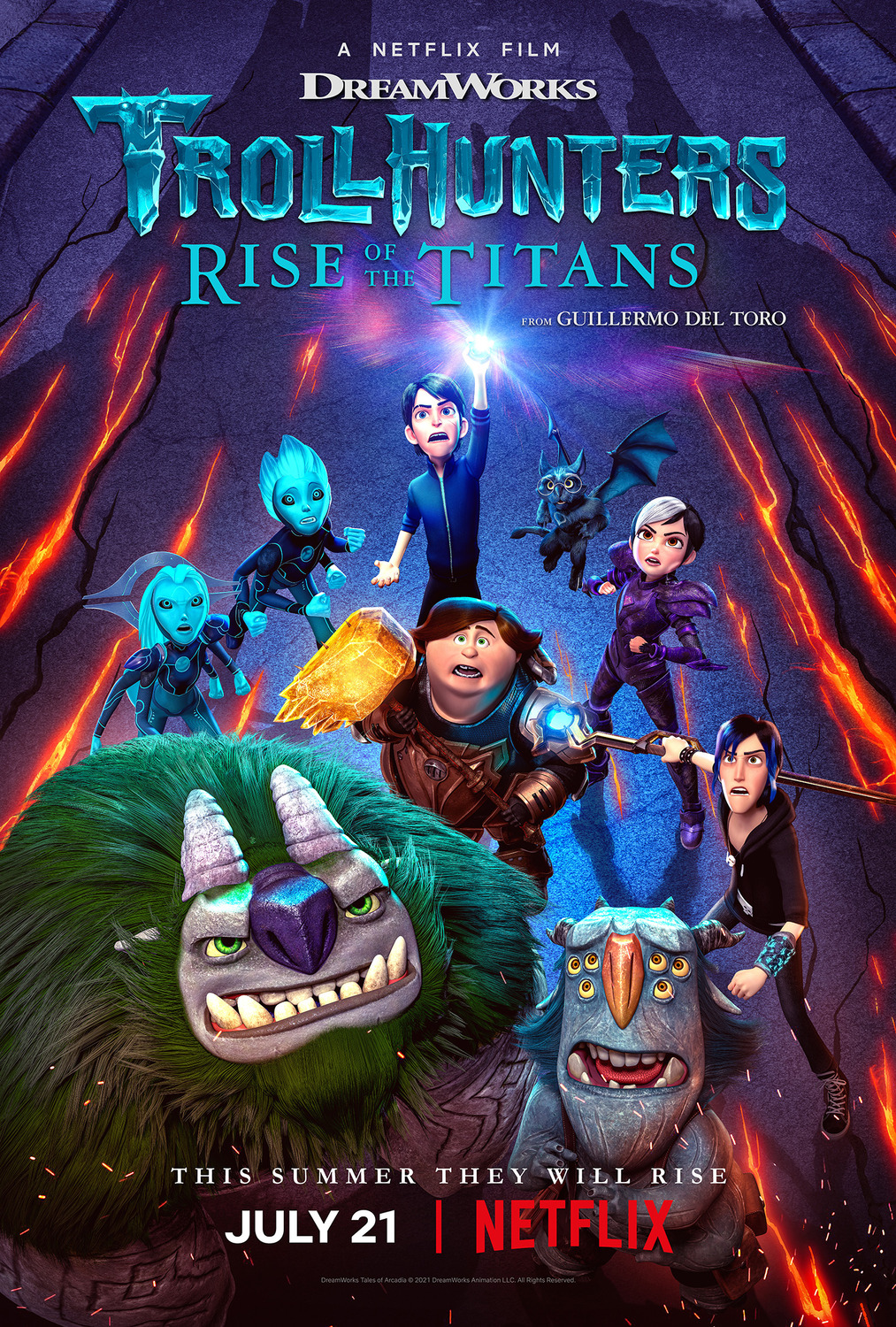 Watch Movie Trollhunters Rise of the Titans
