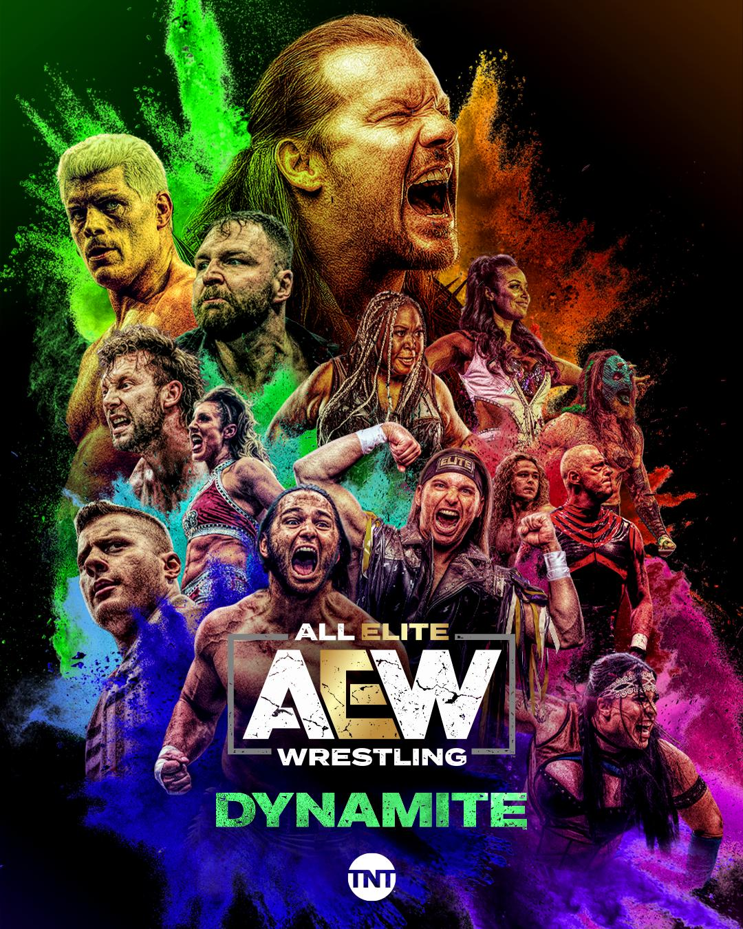 All Elite Wrestling Dynamite Season 3 123Movies