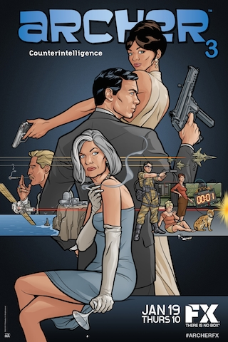 Archer Season 3 funtvshow