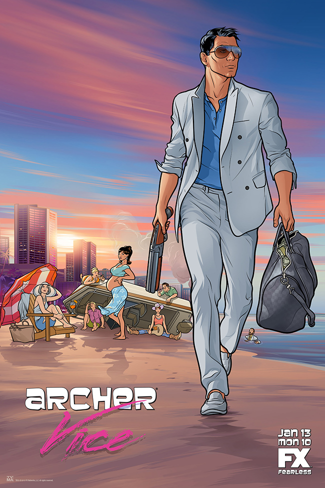 Watch Series Archer Season 5