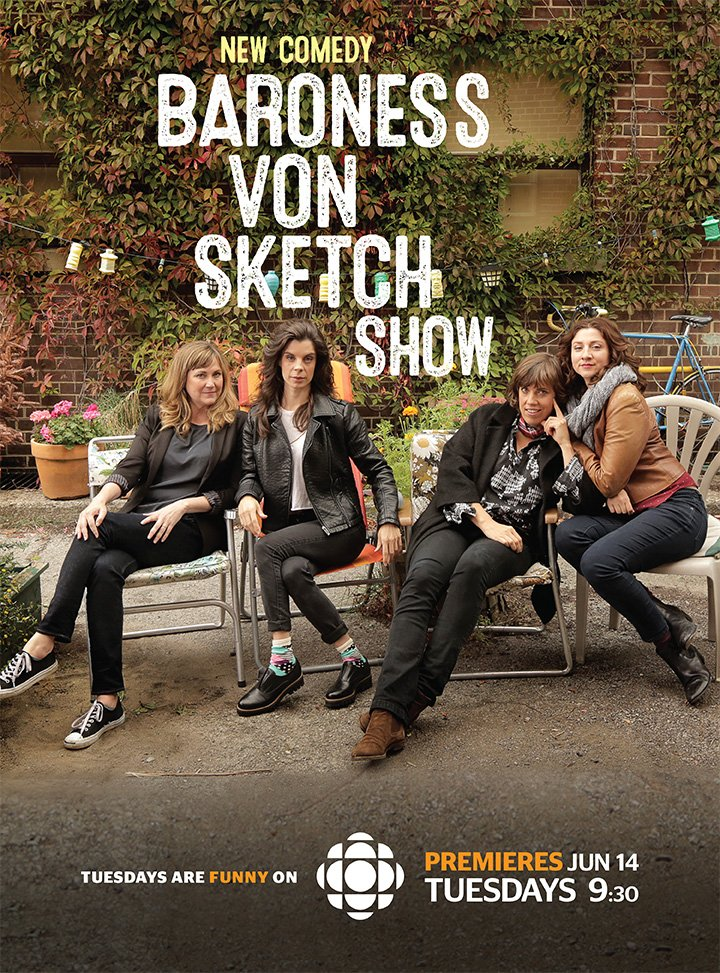 Watch Series Baroness von Sketch Show Season 4