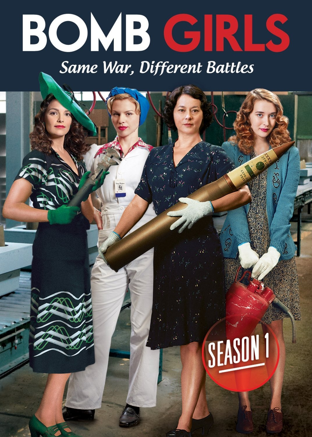 HD Watch Series Bomb Girls Season 1