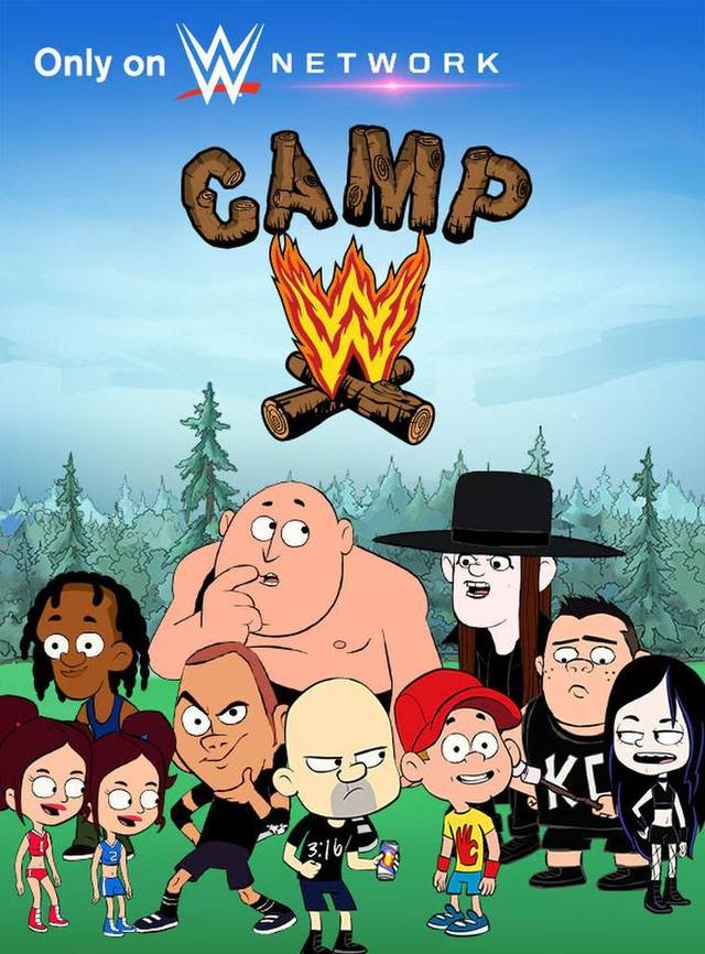 Camp WWE Season 2 funtvshow