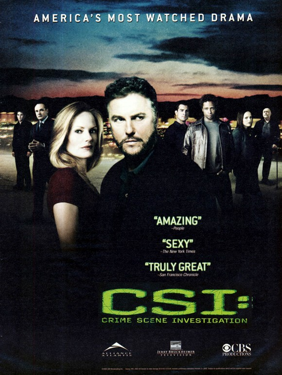 Watch Series CSI Season 8