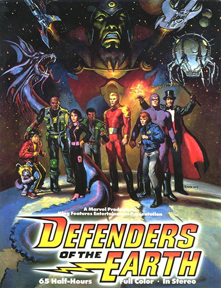 Watch Series Defenders of the Earth Season 1