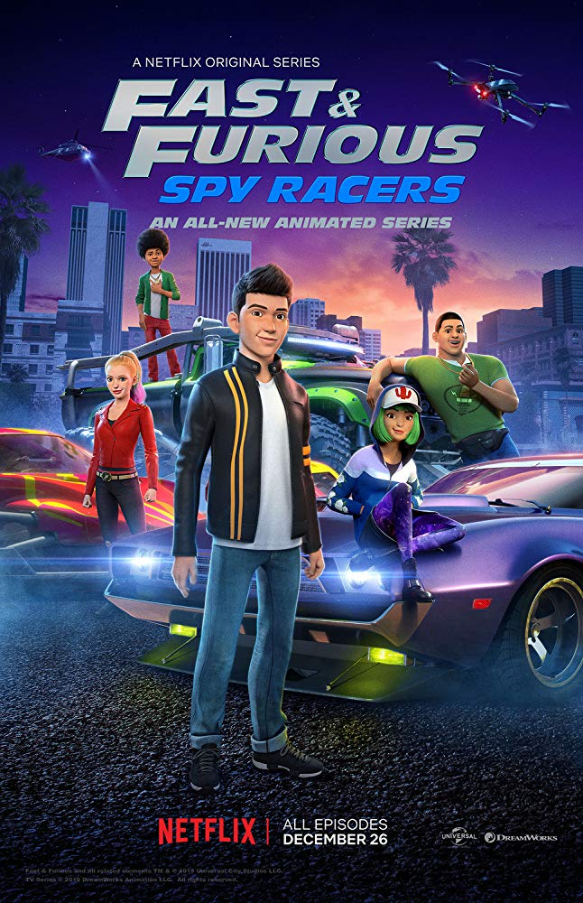 Watch Series Fast & Furious Spy Racers Season 2