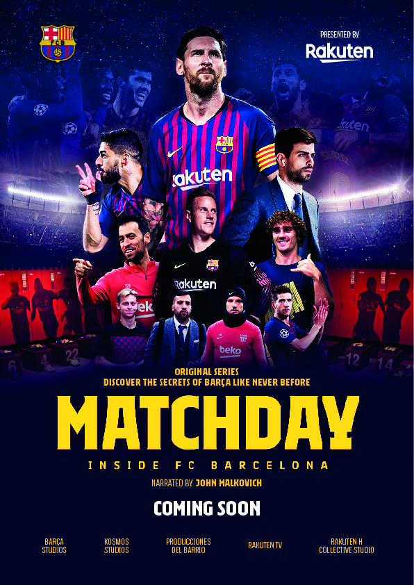Matchday - Inside FC Barcelona Inside FC Barcelona - Season 1 123Movies