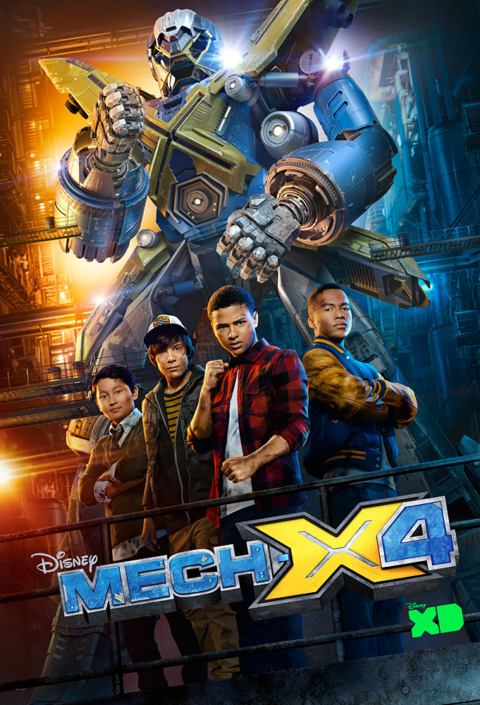 MECH-X4 Season 1 123streams