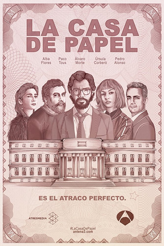 Watch Series Money Heist Season 3