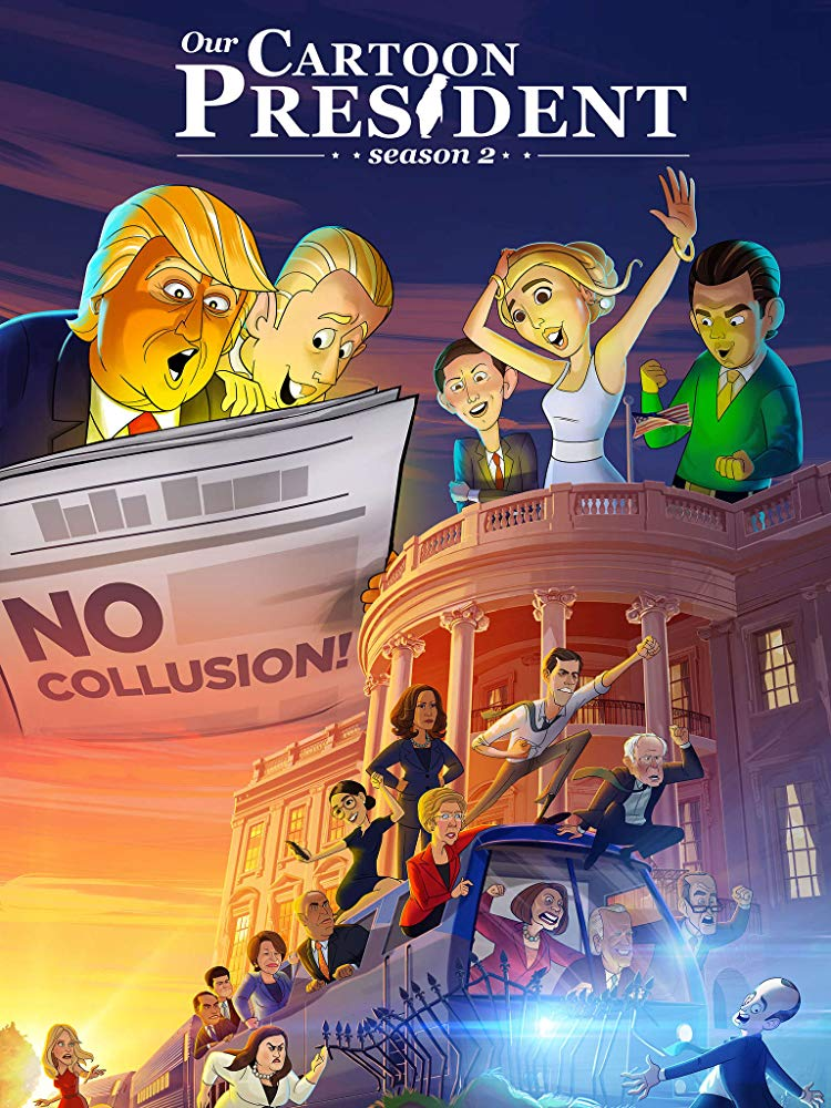 Watch Free HD Series Our Cartoon President Season 3