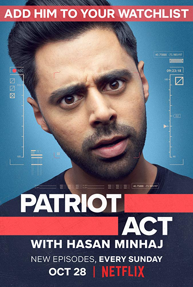 Patriot Act with Hasan Minhaj Season 1 123Movies