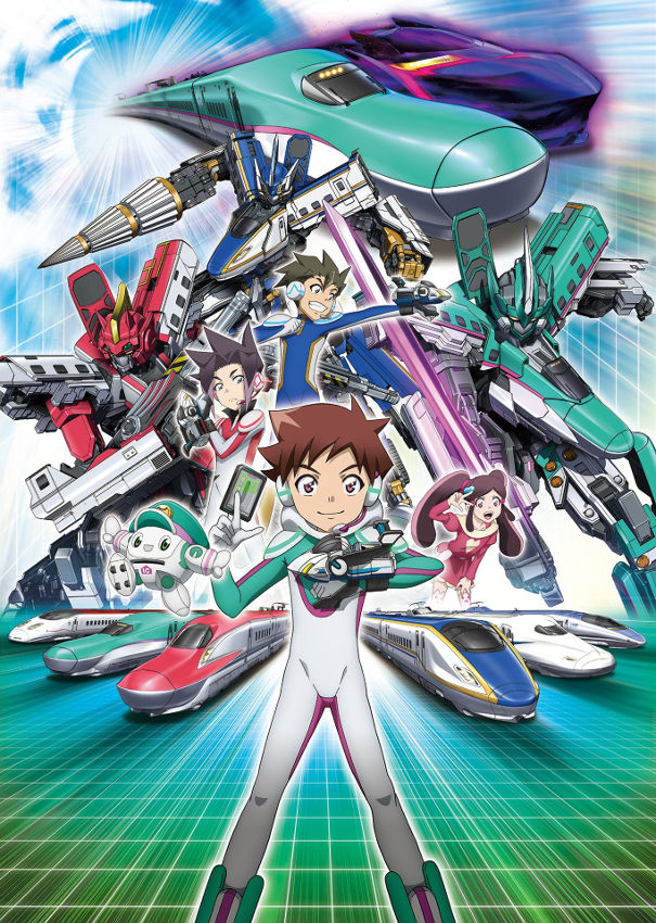 Shinkansen Henkei Robo Shinkalion The Animation Season 1 123Movies