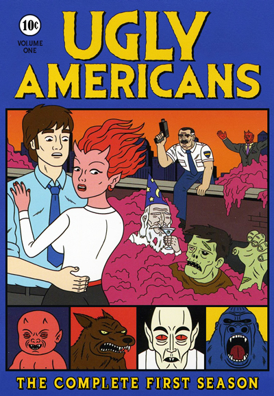 HD Watch Series Ugly Americans Season 1
